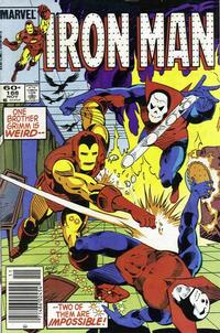 Cover Thumbnail for Iron Man (Marvel, 1968 series) #188 [Newsstand Edition]