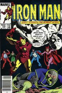 Cover for Iron Man (Marvel, 1968 series) #190 [Newsstand Edition]
