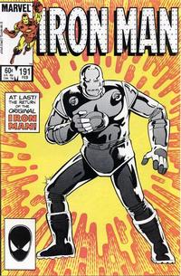 Cover Thumbnail for Iron Man (Marvel, 1968 series) #191 [Direct Edition]