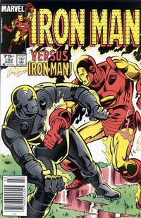 Cover for Iron Man (Marvel, 1968 series) #192 [Canadian price variant]