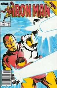 Cover Thumbnail for Iron Man (Marvel, 1968 series) #197 [Canadian price variant]