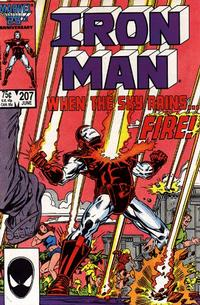 Cover Thumbnail for Iron Man (Marvel, 1968 series) #207 [Direct Edition]