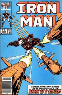Cover Thumbnail for Iron Man (Marvel, 1968 series) #208 [Newsstand]