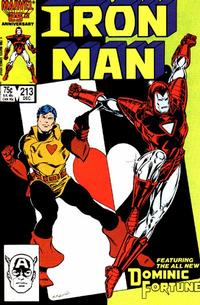 Cover for Iron Man (Marvel, 1968 series) #213 [Direct]