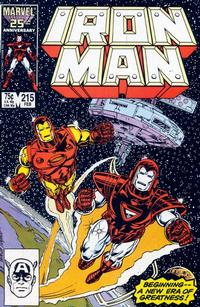 Cover Thumbnail for Iron Man (Marvel, 1968 series) #215 [Direct]
