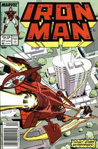 Cover Thumbnail for Iron Man (Marvel, 1968 series) #217 [Newsstand Edition]