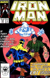 Cover Thumbnail for Iron Man (Marvel, 1968 series) #220 [Direct Edition]