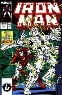 Cover for Iron Man (Marvel, 1968 series) #221 [Direct Edition]