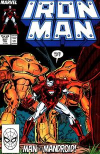 Cover for Iron Man (Marvel, 1968 series) #227 [Direct Edition]