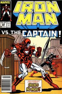 Cover Thumbnail for Iron Man (Marvel, 1968 series) #228 [Newsstand]