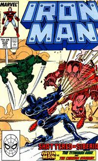 Cover for Iron Man (Marvel, 1968 series) #229 [Direct Edition]
