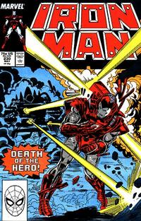 Cover for Iron Man (Marvel, 1968 series) #230 [Direct Edition]