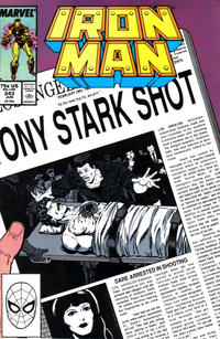 Cover Thumbnail for Iron Man (Marvel, 1968 series) #243 [Direct]