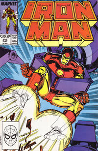 Cover for Iron Man (Marvel, 1968 series) #246 [Direct]