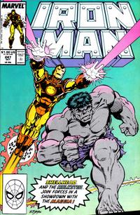 Cover for Iron Man (Marvel, 1968 series) #247 [Direct]