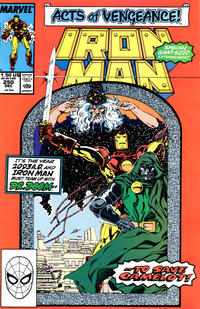 Cover Thumbnail for Iron Man (Marvel, 1968 series) #250 [Direct]
