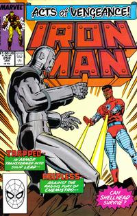 Cover Thumbnail for Iron Man (Marvel, 1968 series) #252 [Direct Edition]