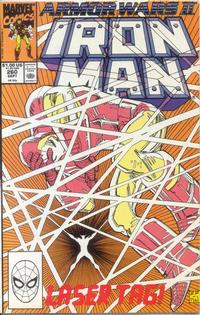Cover for Iron Man (Marvel, 1968 series) #260