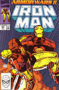 Cover for Iron Man (Marvel, 1968 series) #261