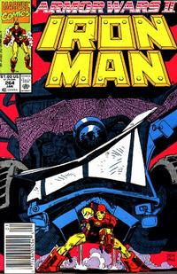 Cover Thumbnail for Iron Man (Marvel, 1968 series) #264 [Newsstand Edition]