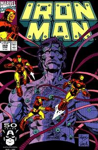 Cover for Iron Man (Marvel, 1968 series) #269