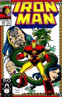 Cover for Iron Man (Marvel, 1968 series) #270