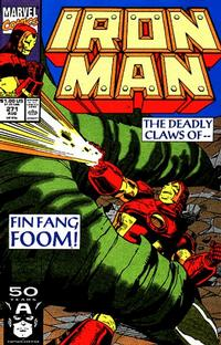 Cover Thumbnail for Iron Man (Marvel, 1968 series) #271