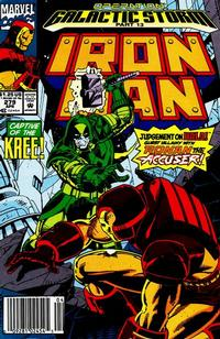 Cover Thumbnail for Iron Man (Marvel, 1968 series) #279 [Newsstand Edition]