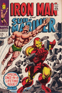 Cover Thumbnail for Iron Man & Sub-Mariner (Marvel, 1968 series) #1