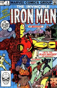 Cover Thumbnail for Iron Man Annual (Marvel, 1976 series) #5 [Direct]