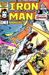 Cover Thumbnail for Iron Man Annual (Marvel, 1976 series) #8 [Direct Edition]