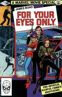 Cover Thumbnail for James Bond For Your Eyes Only (Marvel, 1981 series) #1 [Direct Edition]
