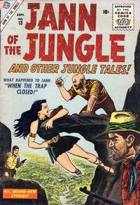 Cover Thumbnail for Jann of the Jungle (Marvel, 1955 series) #13