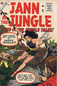 Cover Thumbnail for Jann of the Jungle (Marvel, 1955 series) #15