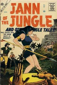 Cover Thumbnail for Jann of the Jungle (Marvel, 1955 series) #17