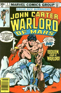 Cover Thumbnail for John Carter Warlord of Mars (Marvel, 1977 series) #3