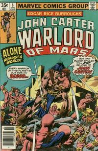 Cover Thumbnail for John Carter Warlord of Mars (Marvel, 1977 series) #6