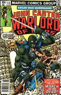 Cover Thumbnail for John Carter Warlord of Mars (Marvel, 1977 series) #13