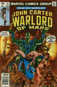 Cover Thumbnail for John Carter Warlord of Mars (Marvel, 1977 series) #16