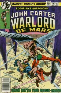 Cover Thumbnail for John Carter Warlord of Mars (Marvel, 1977 series) #19