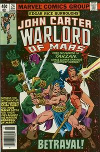 Cover Thumbnail for John Carter Warlord of Mars (Marvel, 1977 series) #24
