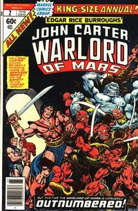 Cover Thumbnail for John Carter Warlord of Mars Annual (Marvel, 1977 series) #2