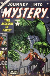 Cover Thumbnail for Journey into Mystery (Marvel, 1952 series) #10