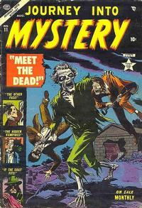 Cover Thumbnail for Journey into Mystery (Marvel, 1952 series) #11