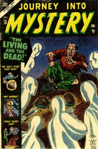 Cover Thumbnail for Journey into Mystery (Marvel, 1952 series) #13