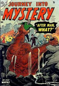 Cover Thumbnail for Journey into Mystery (Marvel, 1952 series) #20