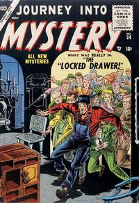 Cover Thumbnail for Journey into Mystery (Marvel, 1952 series) #24