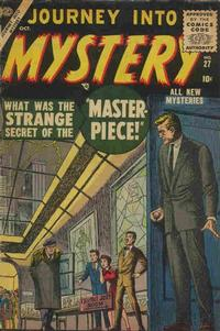 Cover Thumbnail for Journey into Mystery (Marvel, 1952 series) #27