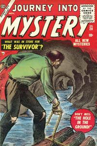 Cover Thumbnail for Journey into Mystery (Marvel, 1952 series) #28