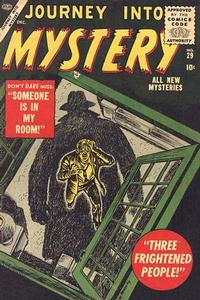 Cover for Journey into Mystery (Marvel, 1952 series) #29